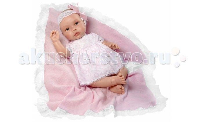 ASI Кукла Лео 46 см 183730  ASI Кукла Лео 46 см 183730   Голова, руки и ноги выполнены из винила, а тело из ткани со специальным наполнителем. Это позволяет кукле принимать естественные положения. У малышки Лео нет волос, но есть натуральные реснички.  Ручки, пальчики, складочки на пухлых ножках, розовые губки - все выглядит настолько натурально, что у вас создается впечатление, что перед вами настоящий малыш!  Все куклы ASI создаются с использованием ручного труда. В каждую куколку мастер…