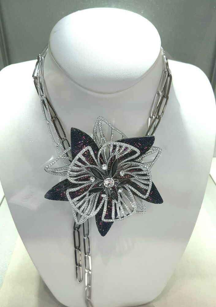84524cb1783b9 SWAROVSKI MAGICIAN ORCHID STYLE NECKLACE 5389177 BRAND NEW RETIRED ...