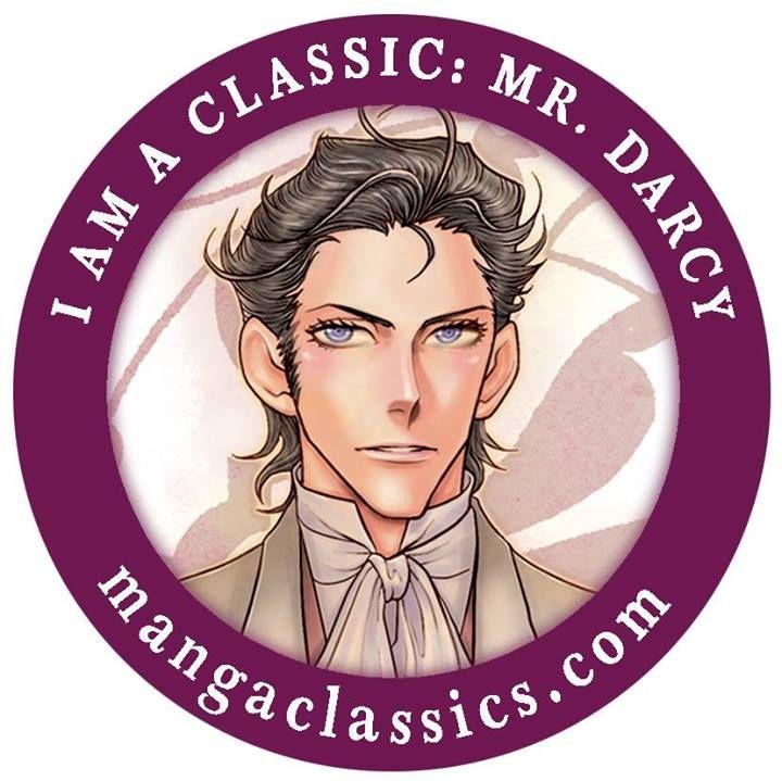 Choose #MrDarcy from #MangaClassics #PrideAndPrejudice as your Avatar/Icon! #JaneAusten #PnP #Fitzwilliam #Darcy
