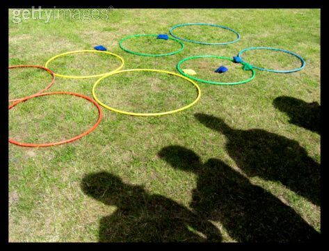 Fun Team Building Hula Hoop Activity for Kids, Teens, and Adults