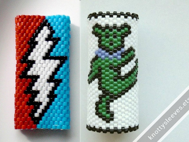 Grateful Dead Peyote Stitch Dread Cuffs Products I Love