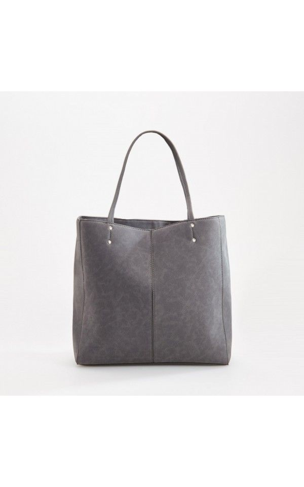 shopper BAG, NEW COLLECTION SK 16, grey, RESERVED