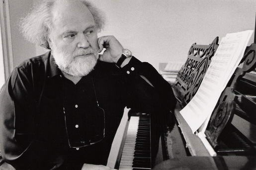 """Yannis Markopoulos- His passion for the traditional Cretan music rooted to the Byzantine hymns resulted in his own unique music identity.In 1967 he moved to London due to the military dictatorship.There he had the chance to cooperate with various composers,Lutyens, Xenakis,but also compose excellent music;""""Ilios o Protos""""on the poetry of Elytis.""""Return to the Roots""""was the name of his musical project,primarily focusing on future, evolution, development, introspection and living traditions."""