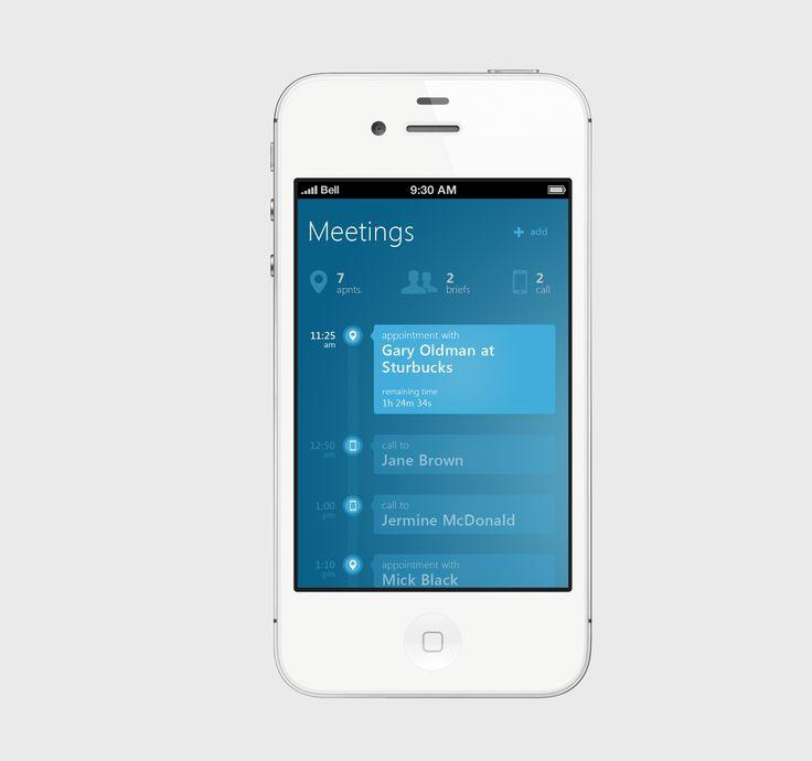 metro-esque iphone app