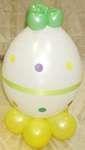Расхальный кролик Багз Банни Bugs Bunny пасхальное яйцо твистинг воздушный шар