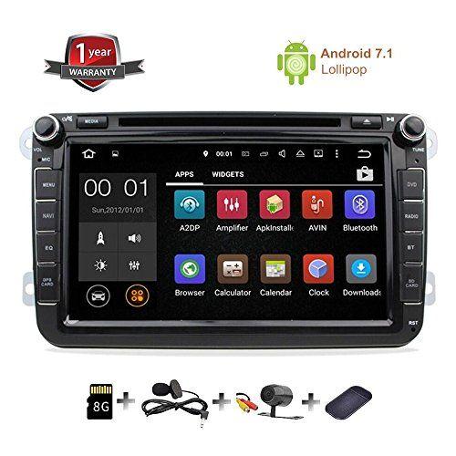 #GPS #Navigation for #Car #Stereo #Double #Din #Bluetooth #Touch #Screen #8 #inch #Android 7.1 #Sat #Nav for #VW #Tiguan #Golf #Passat #Jetta Skoda with #Backup #Camera and #Map Applicable #Car Models & Years: BORA(2006-2015) CADDY (2003-2015) EOS (2006-2015) #GOLF (2007-2012) #JETTA (2006-2015) LAVIDA (2011-2012 MAGOTAN (2006-2012) NEW SHARAN (2010-2013) PASSAT(2006-2013) SAGITAR (2005-2015) SCIROCCO (2008-2015) #TIGUAN (2007-2015) TOURAN (2003-2013) SEAT: ALTEA (2004-2013)
