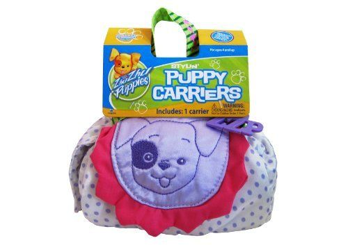 Zhu Zhu Puppies 70812021 Puppy Carrier Purple Dots. #Puppies #Puppy #Carrier #Purple #Dots
