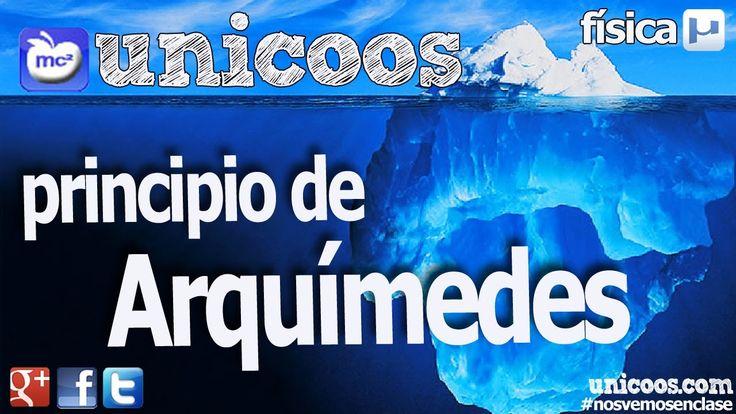 Principio de Arquimedes 01 BACHILLERATO fisica hidrostatica empuje