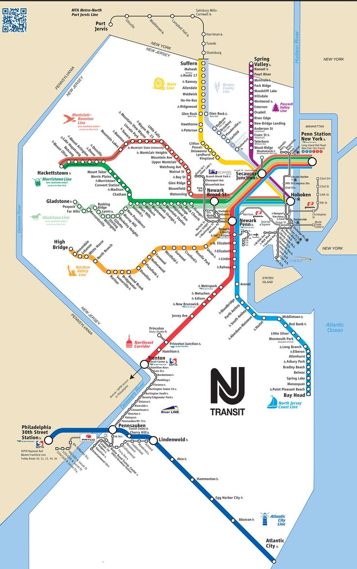 Best Maps Of New York City And Manhattan Top Tourist - Map of new york and new jersey