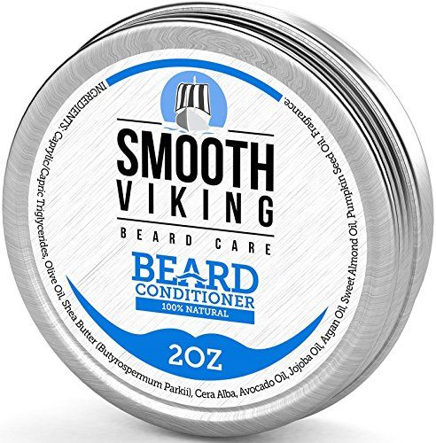 From 12.97:Beard Conditioner For Men - Natural Wax Conditioning Softener That Soothes Itching - Use With Beard Oil And Balm For Best Results And Growth - Argan Oil Shea Butter And Beeswax - 2 Oz - Smooth Viking