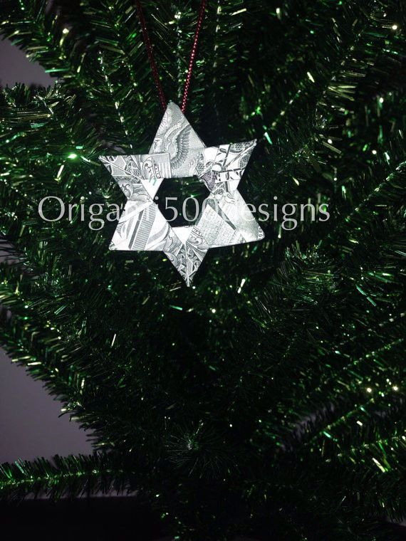 78 best $ Origami TREE Ornaments images on Pinterest ...
