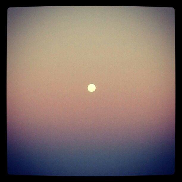 Beachmere moon