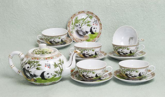 Panda Tea Set - For My Girls