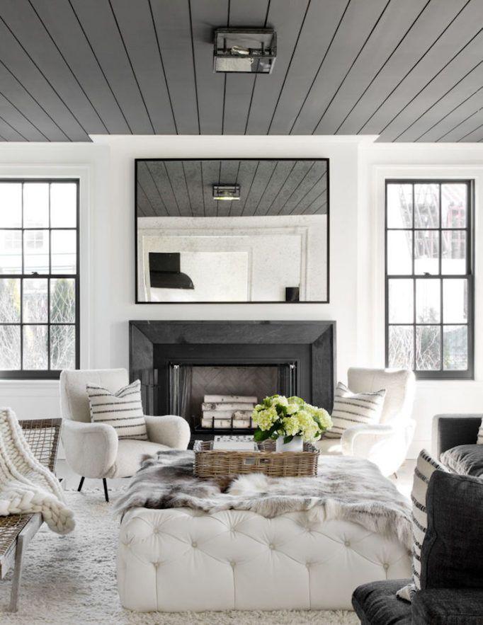 Painting Trend – Black Ceilings