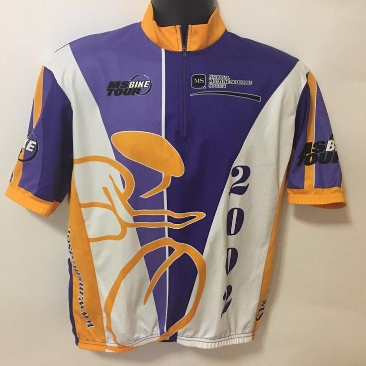 MS Bike Tour Jack Daniels And Back Jersey Cycling Shirt 2002 Vomax XL Old No 7 #VOmax #cyclingshirt