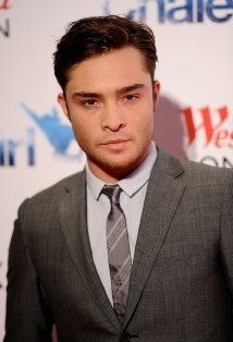 Ed Westwick...hmmm. His bad boy-ness as Chuck Bass is kind of attractive...