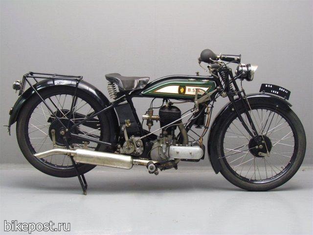 Ретро мотоцикл BSA S27 1927