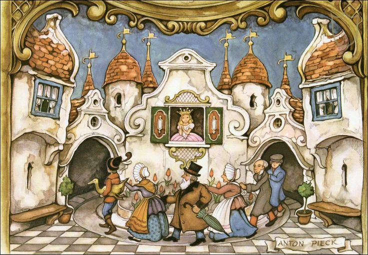 The Golden Goose - Tales of the Efteling by Martine Bijl and Anton Pieck