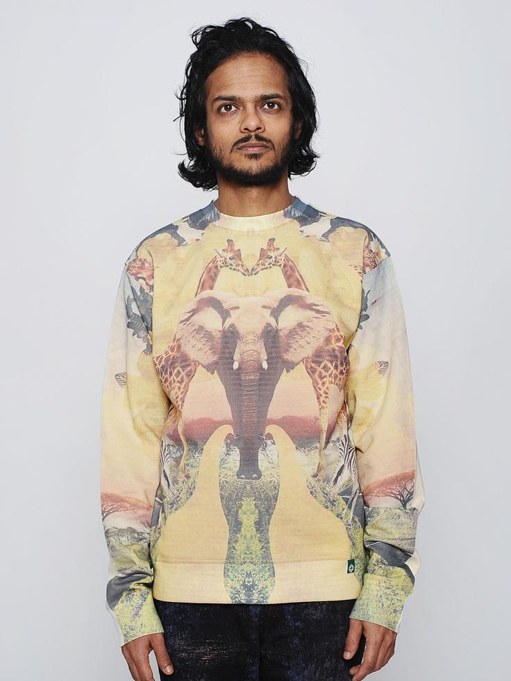 Fullprinted sweater Африка - CORNER