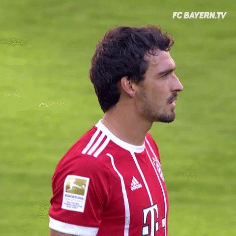 chewing gum ok GIF by FC Bayern Munich