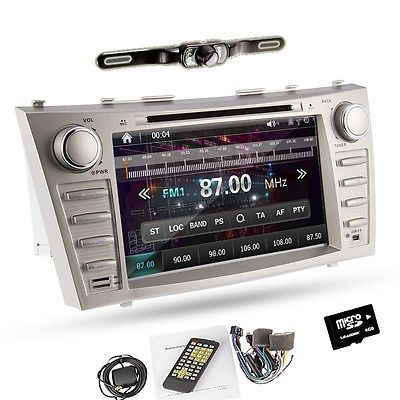 car cd dvd gps navi 8 player radio toyota camry 2007 2008. Black Bedroom Furniture Sets. Home Design Ideas