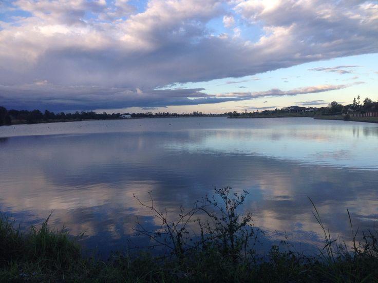 Beautiful afternoon at Coomera lake