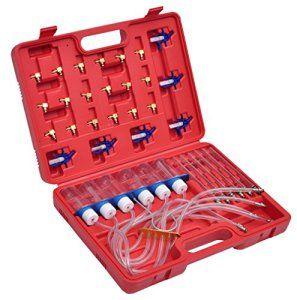 VidaXL 210040 Kit test débit pour injecteur à rampe commune et adaptateurs: Cet appareil peut trouver les problèmes de fonctionnement dun…