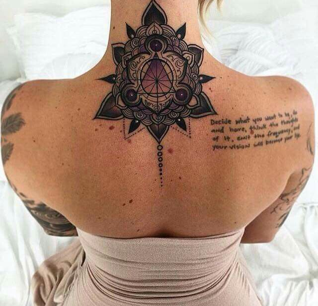 Back Of The Neck Tattoo Ideas And Inspiration: Best 25+ Back Neck Tattoos Ideas On Pinterest