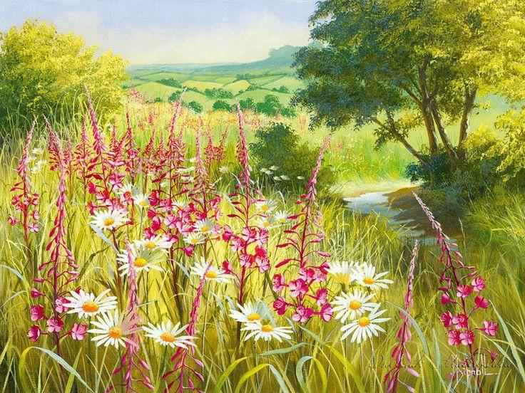Луговые цветы открытки, игральными костями
