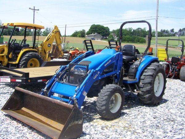 Maintenance, New Holland Tc45 4 Cylinder Compact Tractor