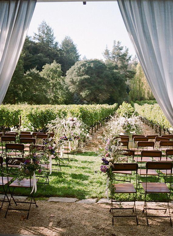 Une cérémonie au milieu des vignes? c'est possible :)