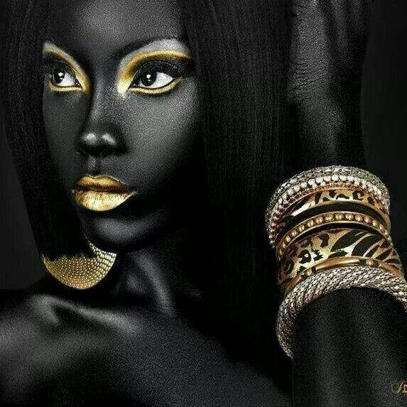 Beauty is deep skined