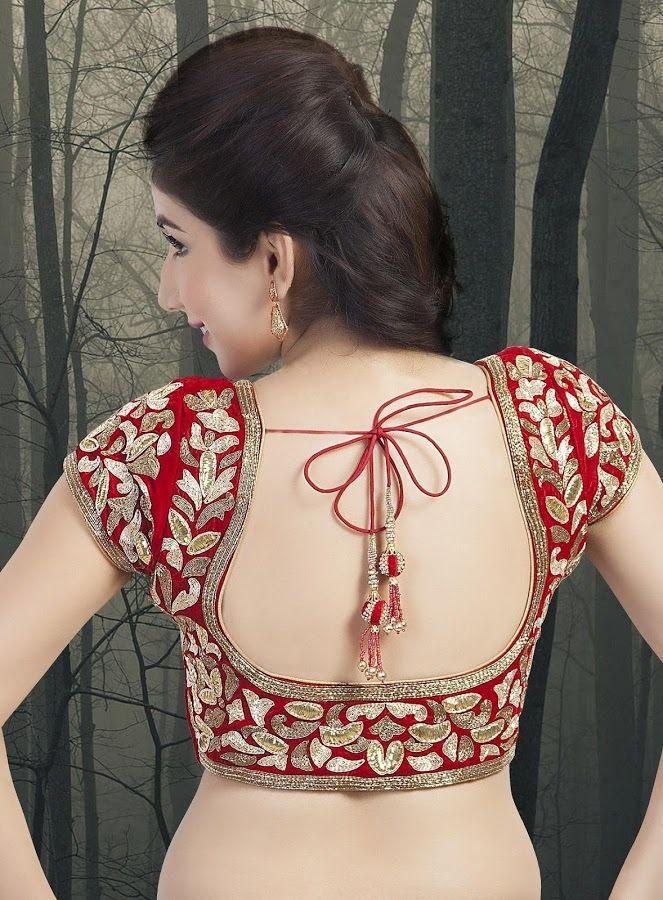 embellished blouse designed