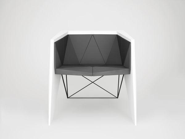 Armchair by Svyatoslav Boyarincev, via Behance