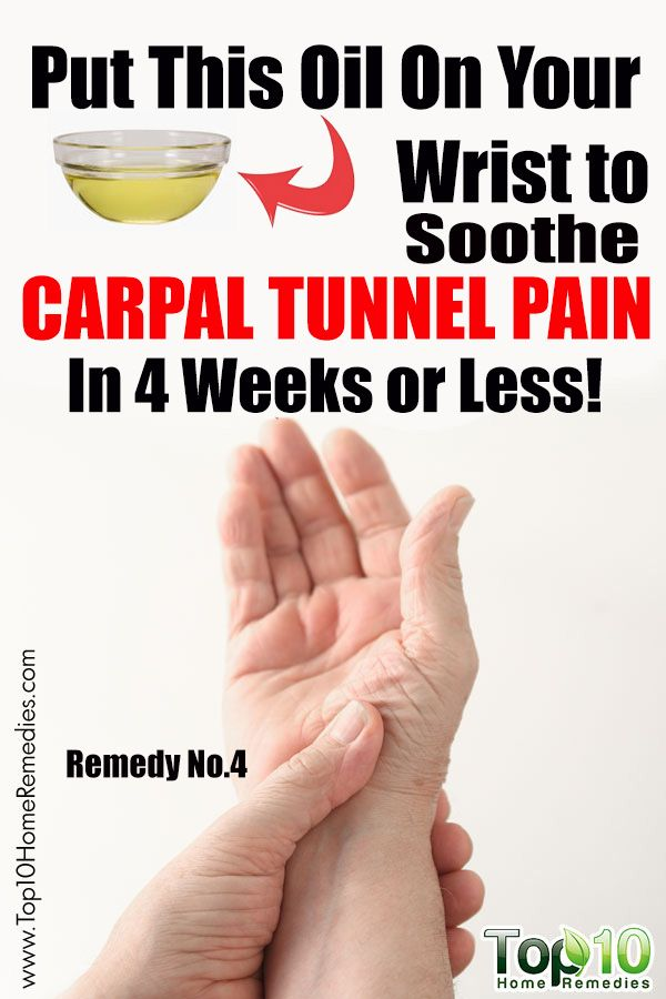 Put This Oil On Your Wrist to Soothe #Carpal #Tunnel Pain In 4 Weeks or Less!