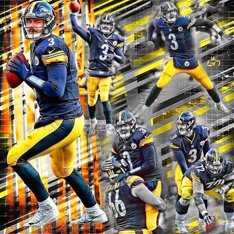 What a great comeback performance for Landry Jones, might be his last season in a Steelers uniform. @landry_jones12 #steelers #steelernation #steelersnation #blackandyellow #blackandgold