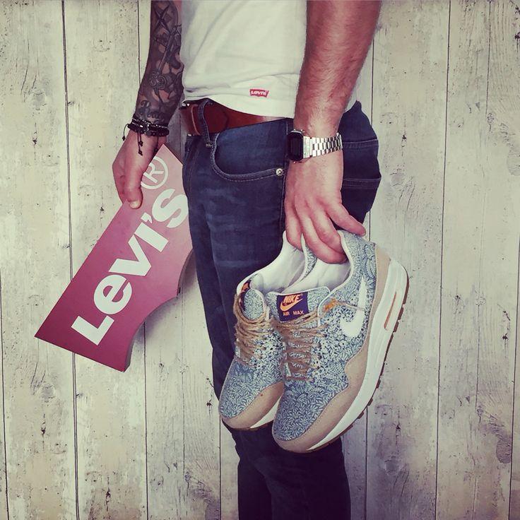 best sneakers b77e5 8a6d9 Nike ID Air Max  Levi s®   Nike® AirMax® 1 x Liberty London ...