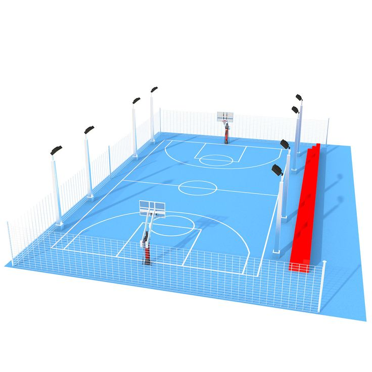 25 best outdoor basketball court ideas on pinterest - Swimming pool basketball hoop costco ...