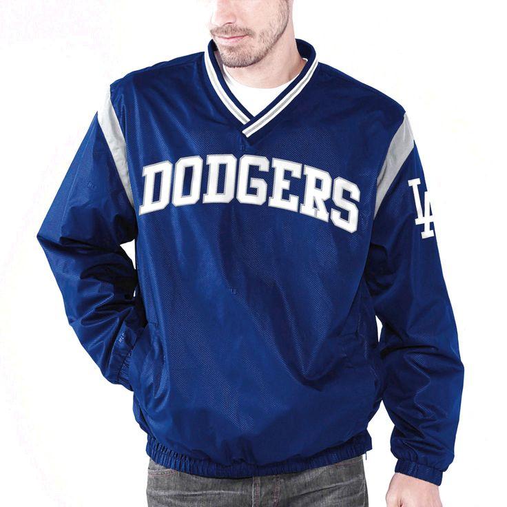 L.A. Dodgers Wild Pitch VNeck Pullover Jacket Royal