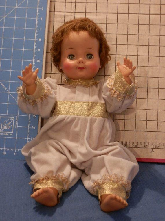 Vintage Cream Puff Baby Doll by JJandBAntiques on Etsy, $35.00