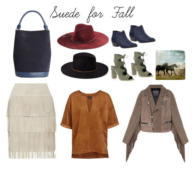 """""""Suede for Fall"""" by earringsandstuff on Polyvore featuring Illia, Burberry, Emilio Pucci, Mstr of Disguise, Forever 21, Sam Edelman, Ballard Designs and CrazyForSuede"""