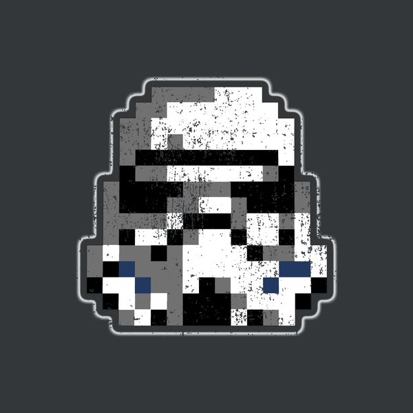 New 'Pixel Trooper' design in my @Neatoshop store, Pew Pew! #tshirt #geek #starwars
