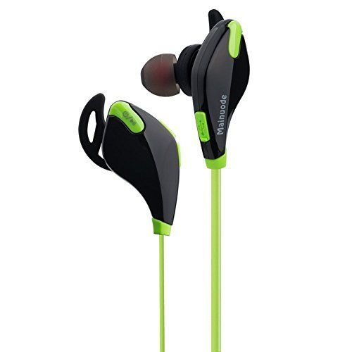 Bluetooth 41 and aptX tech Headphones Wireless Bluetooth Noise Cancelling Headset Running  Exercise  Sports Earbuds Earphones for Bluetooth Smart Cell phonesDevices ** Details can be found by clicking on the image.