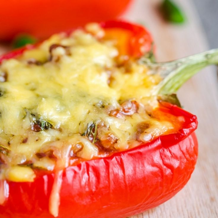 This crab stuffed peppers recipe uses canned crabmeat and other simple ingredients that make a fancy delicious dish.. Crab Stuffed Peppers Recipe from Grandmothers Kitchen.