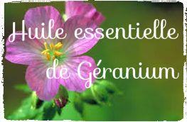 L'huile essentielle de Géranium encourage la peau à éliminer les cellules mortes et permet de régénérer de nouvelles cellules. Elle a un pouvoir cicatrisant