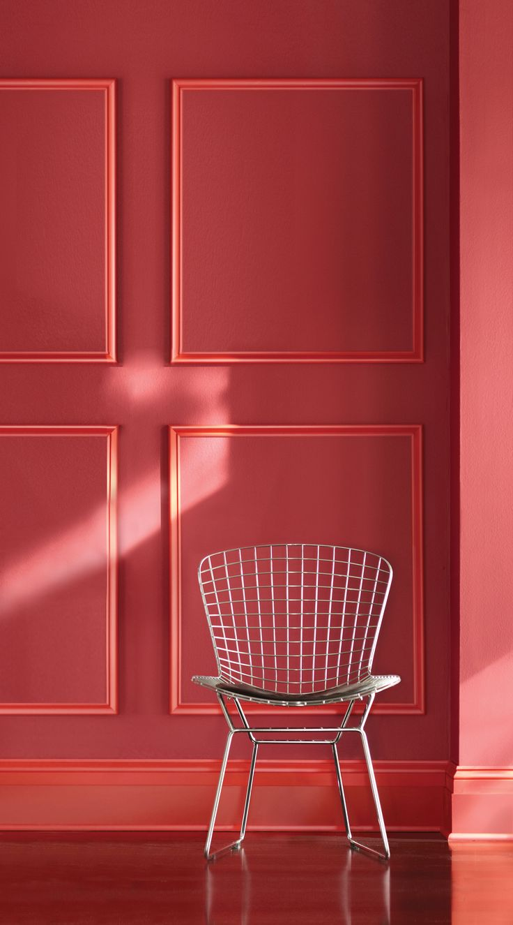 go bold with our home decorators collection by behr paint in intrigue red with fuchsia flair - Behr Home Decorators Collection