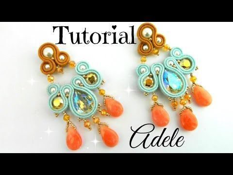 Tutorial: Adele Orecchini Soutache - YouTube