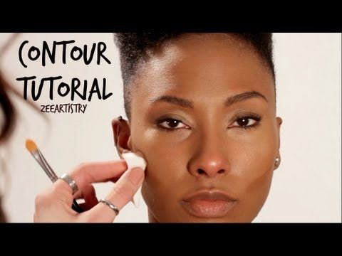 See how Zee contours in her latest youtube tutorial. It was a pleasure working with her     can be super tricky but when done properly, it can do amazing things to your skin! Check out my quick tutorial on how to contour your cheeks, jaw and nose.    Products Used:   MAC Pro Longwear Concealer  MAC Studio Fix Powder  Bdellium Brushes    www.zeeartistry.com  www.twitter.com/zeegustafson    Produced by:  http://www.24framesofmind.com  https:...