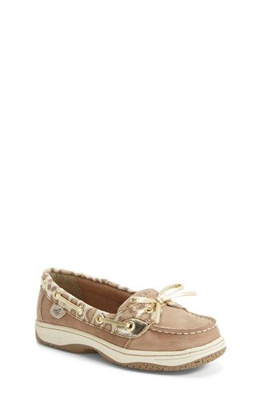 Sperry Kids 'Angelfish' Boat Shoe (Little Kid & Big Kid) available at #Nordstrom