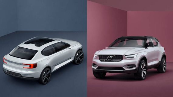 Концепт Volvo 40 серии представлен: Встречайте новое, модульное лицо шведской роскоши [Фотогалерея] | Новости автомира на dealerON.ru